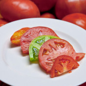 three tomato salad