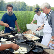 A Summer tasting menu with David Bouley at Ray Bradley farm