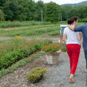 Farm to Table dinner at Bradley Farm with chef Dominic Cerrone a